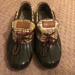 Sperry Top Sider Rain Duck Shoes